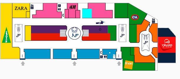 Plano de ubicaci n de la apple store plaza norte 2 - Peluqueria plaza norte 2 ...
